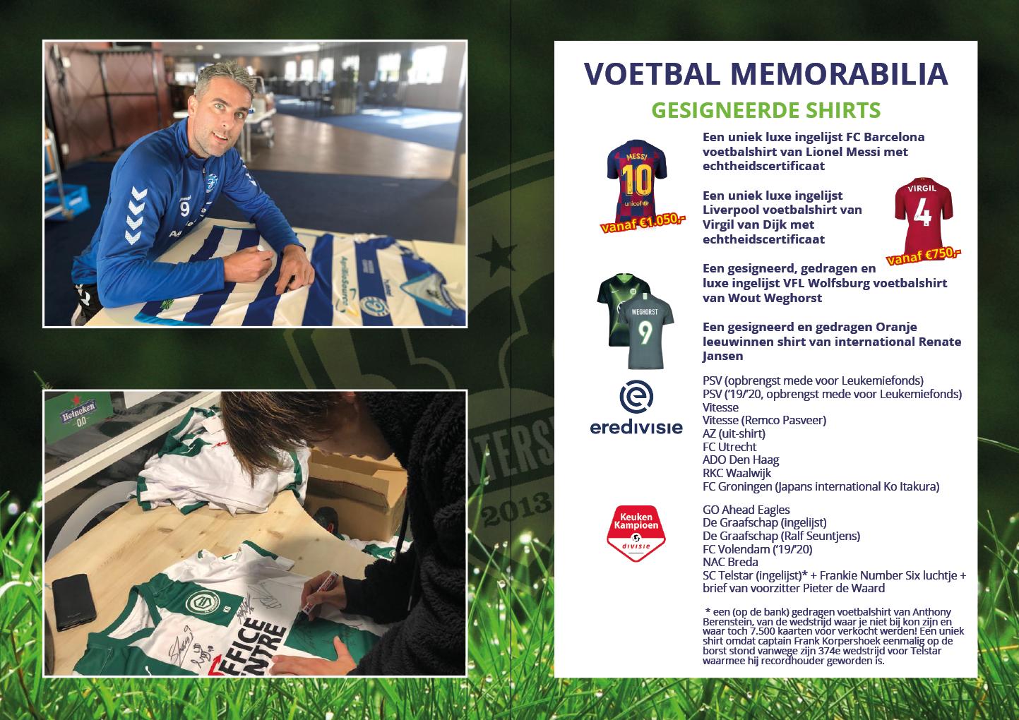 Online Veiling Sportmemorabilia